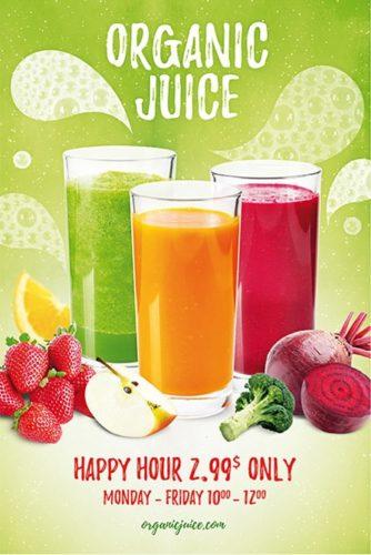 Organic-Juice_Flyer_Template