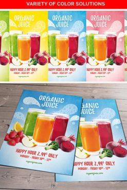 Organic_Juice_Flyer_Template_1