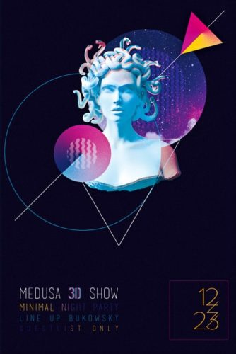 Medusa_Party_Flyer_Template